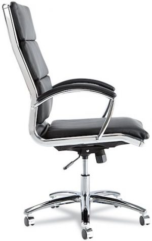 Alera Neratoli High-Back Swivel Office Chair Under $300 - Side Image