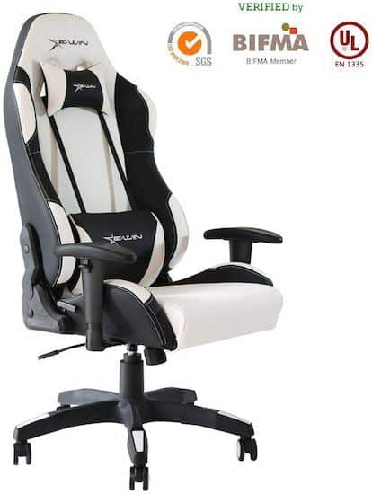 EWin Champion Series Ergonomic Computer Gaming Office Chair with Pillows