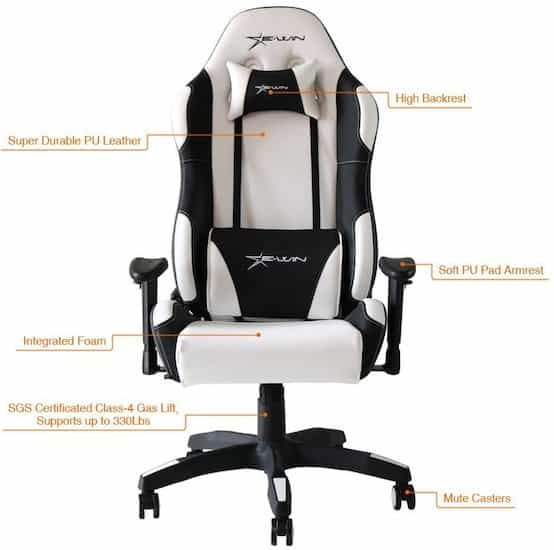 Ewin High back Gaming Office Chair - Details