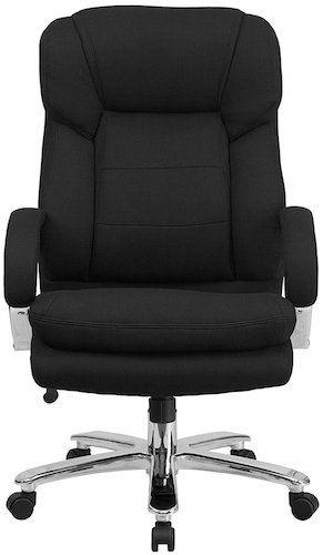 Flash Furniture Hercules Series Swivel Office Chair - Black Fabric Model