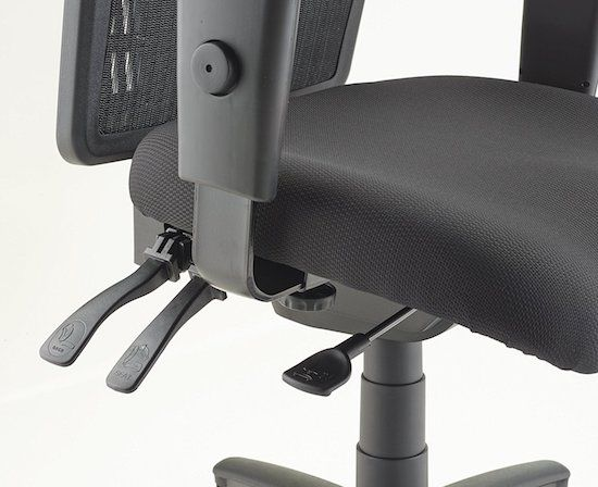 Lorell Executive High-Back Chair Height Adjusting Handle