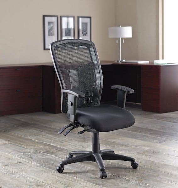Lorell Executive High-Back Chair - best ergonomic office chair under 300 dollars
