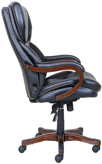 Serta office chair with adjustable height