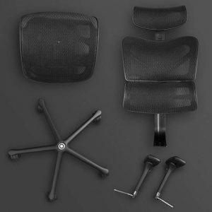 Sieges Ergonomic Office Chair Parts