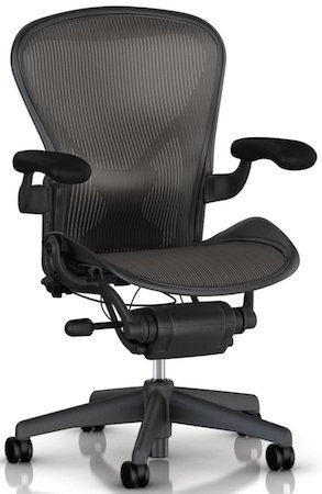 Herman Miller Aeron - the most premium office chair for lower back pain