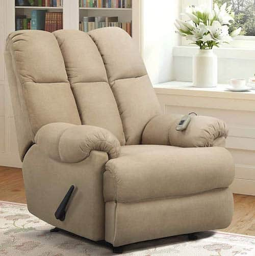 Dorel Living Dual Massage Recliner for Back Pain