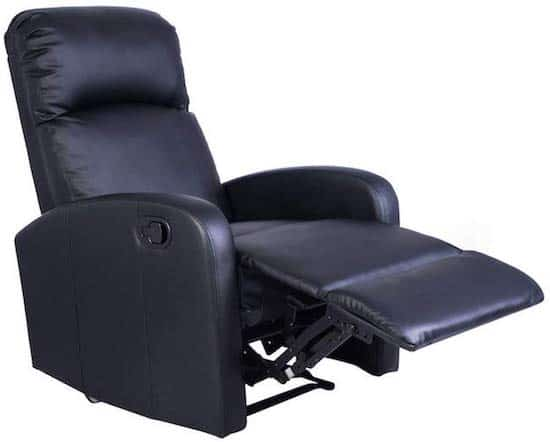 Giantex Black Lounge Chair - best recliners for back pain
