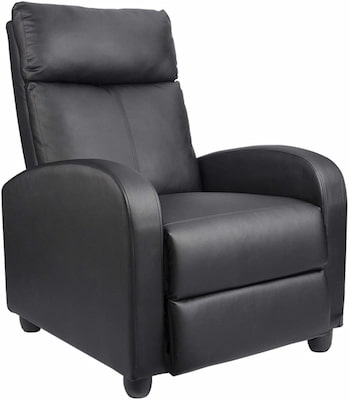 Homall recliner chair - best affordable recliner for back pain (top-pick)