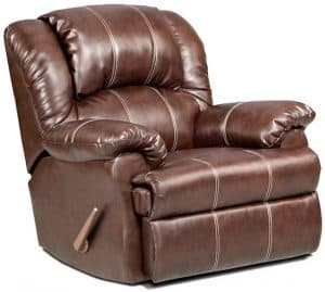 Roundhill Furniture Brandon Bonded Leather Recliner Chair