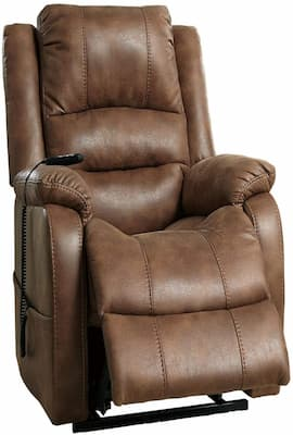 Signature Design by Ashley Furniture Recliner - Recliner for Back Pain with Motorized Movement