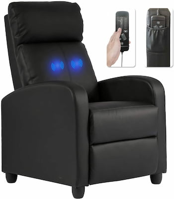 recliner chair with great lumbar support