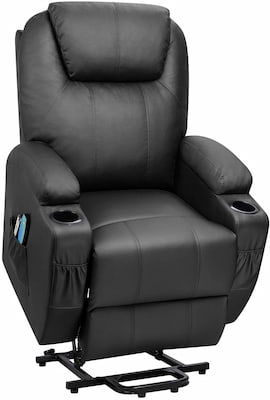 Flamaker Recliner with Heating Back and Massage for Back Pain
