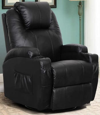 Esright Recliner with Heating Back and Massage Function