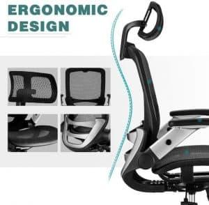 Gabrylly Office Chair - Ergonomic Design