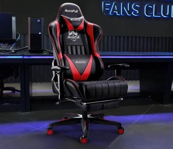 AutoFull High back Gaming Office Chair Setup