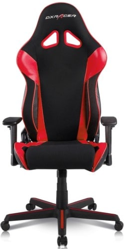 DXRacer Racing Series OH:RAA106 Office Chair Front look - best office chairs under 300 dollars