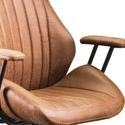 Ovios High-Back Swivel Office Chair Under $300 - Side Image