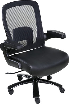 One Space Taft Mesh Back Office Chair for Oversized People