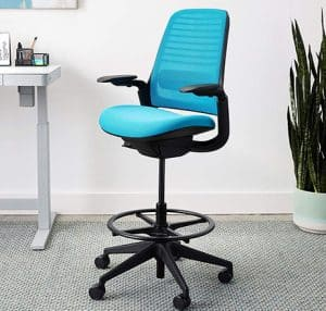 Steelcase Series 1 chair with stool