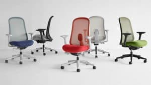 Lino chairs by Herman Miller