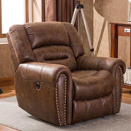 ANJ Electric Recliner Chair - living room recliner for elderly to sleep