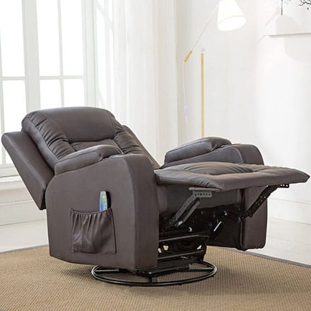 ComHoma Leather Recliner Chair - best recliner for sleeping after surgery