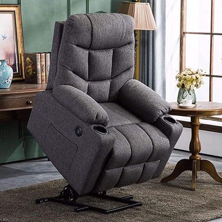 MCombo Recliner - best power recliner for sleeping