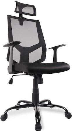 High Back Ergonomic Office Chair for Neck Pain