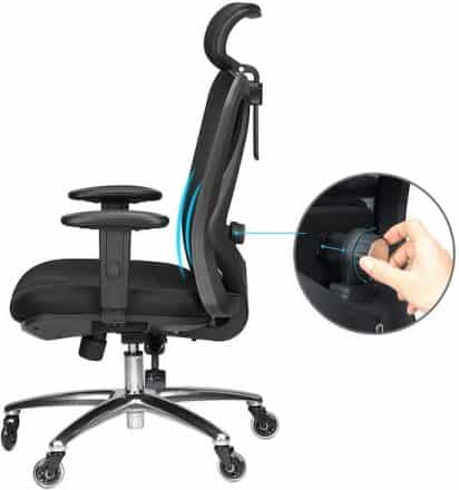 Duramont Office Chair Comes with Multiple Adjustable Features