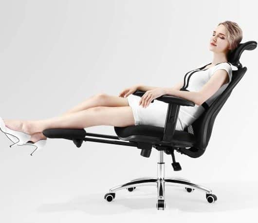 Best Reclining Office Chair With Footrest - featured image