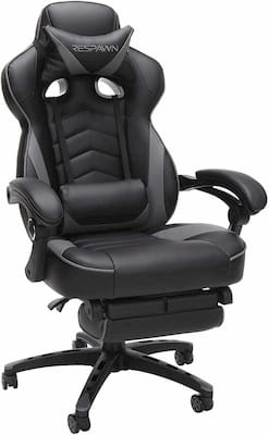 Respawn 110 most comfortable gaming chair with footrest