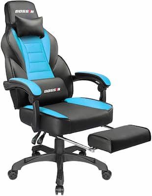 Bossin Racing Style gaming chair - the best value gaming chair under $100