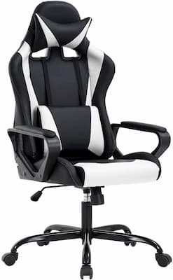 cheap ergonomic gaming chair with adjustable lumbar support