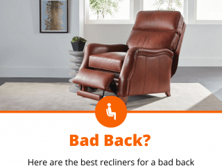 best recliners for bad back