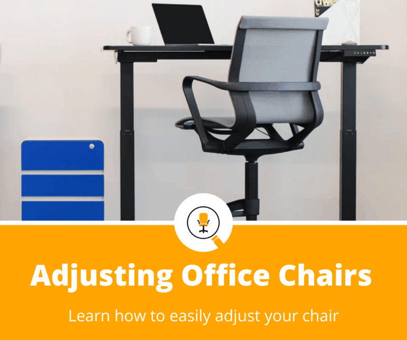 how to adjust office chair
