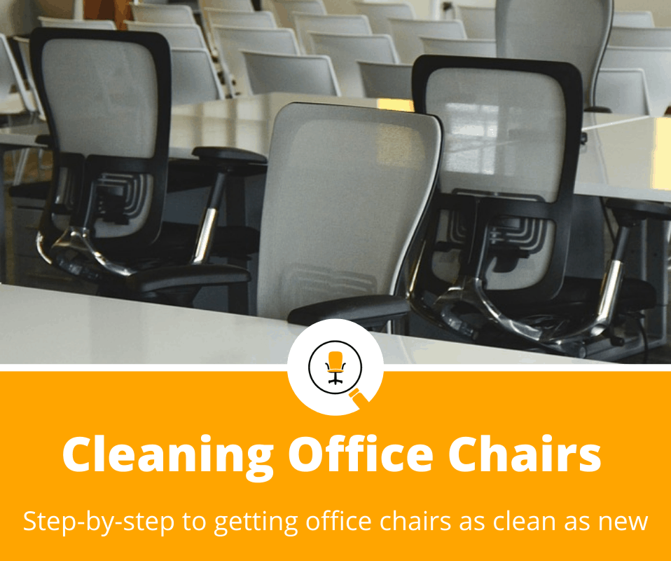 how to clean office chair