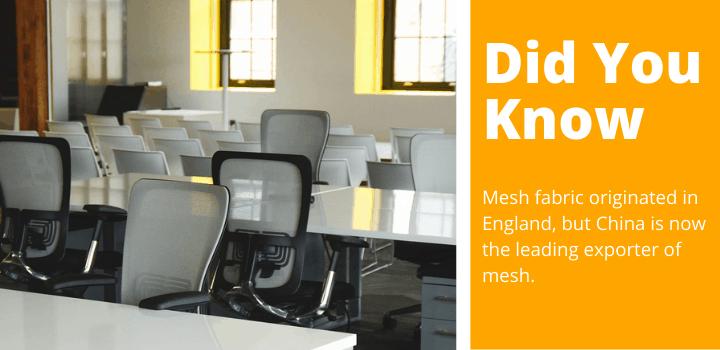 mesh office chair fact