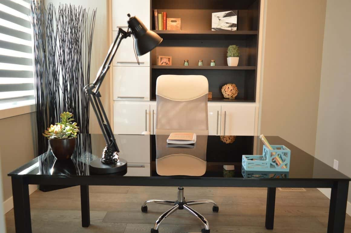 simple clean office chair