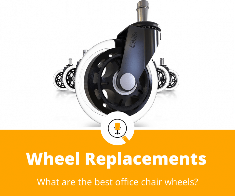 best office chair wheel replacements